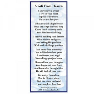 A Gift From Heaven Bookmark