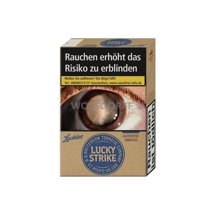 Lucky Strike Authentic Blue