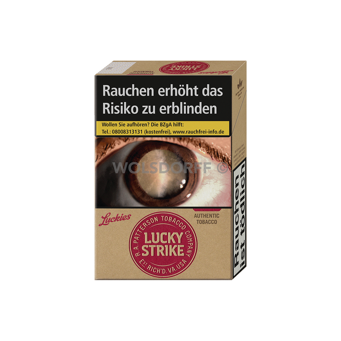 Lucky Strike Authentic Red