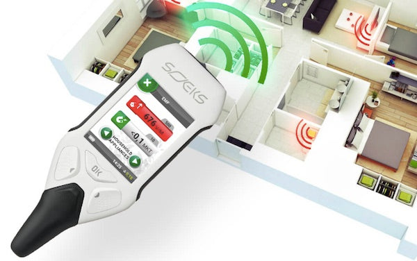 EMF Meter SOEKS EcoVisor Detect Radiation from Smart Meters, Appliances at Home