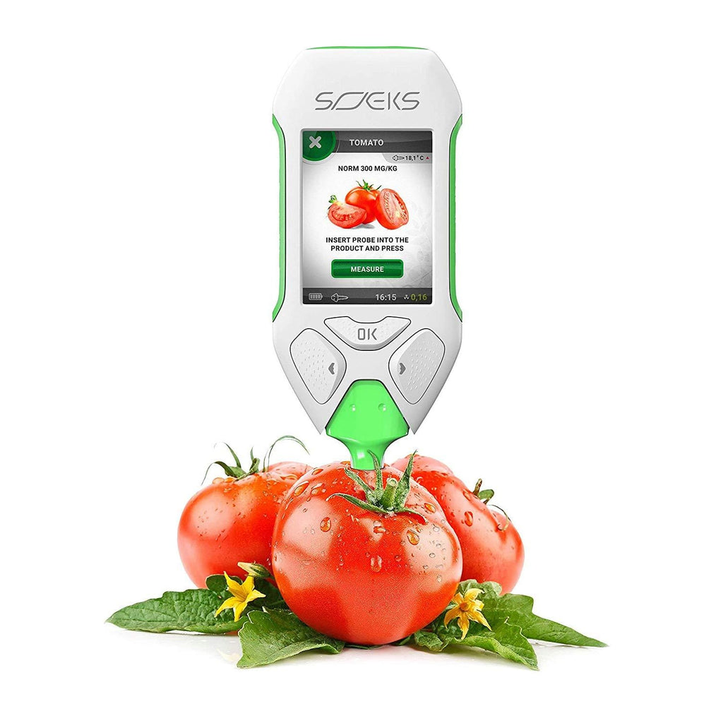 Soeks Ecovisor F2 Nitrate Tester Check Fruits Vegetables Meat Fish For Nitrates And Water Purity
