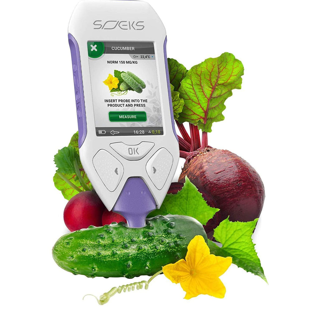 SOEKS EcoVisor F3 EcoTester 3 Radiation Detector and Food Nitrate Tester Testing Produce
