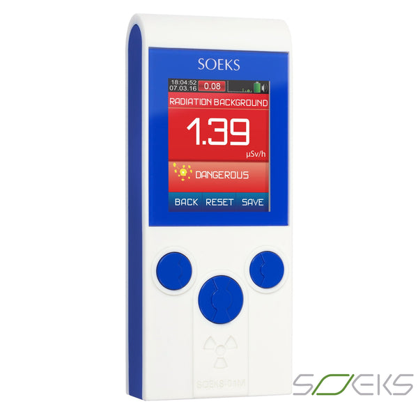 Prime 01M - Professional Radiation Detector Geiger Counter Dosimeter All Products