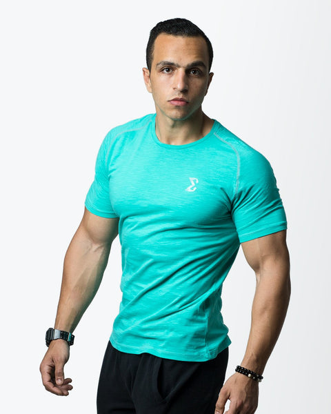 Hydro Flipped T-shirt (Aquamarine) - Sigma Fit US