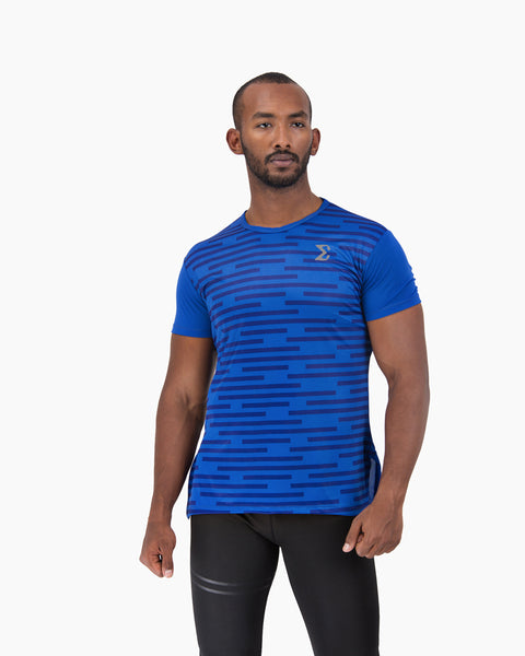Acti-Dri Metro Tee (Electric Blue) - Sigma Fit US
