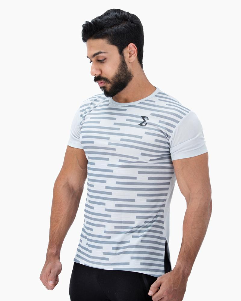 Acti-Dri Metro Tee (Light Gray) - Sigma Fit US