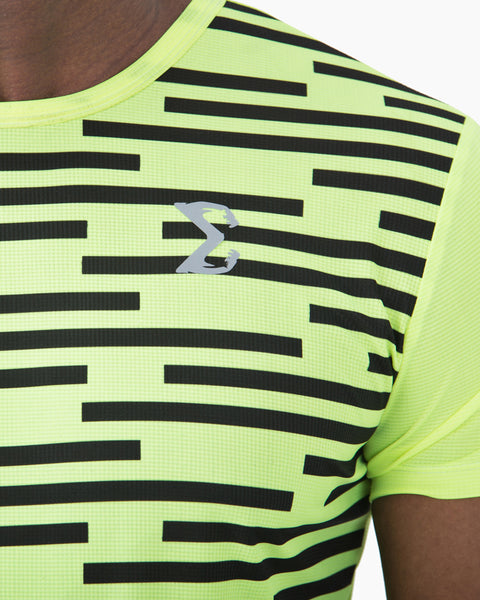 Acti-Dri Metro Tee (Neon Yellow) - Sigma Fit US