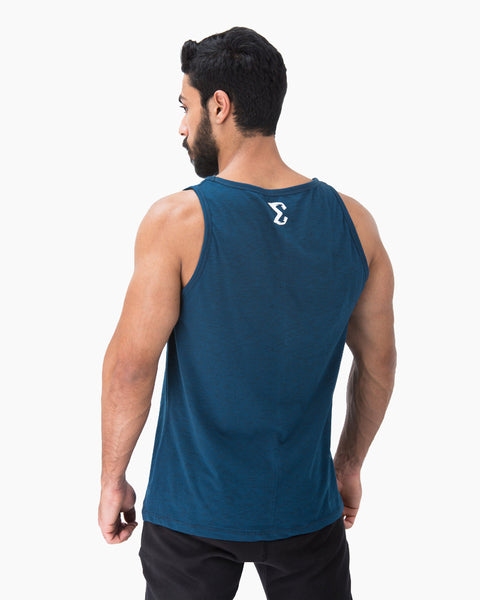 Baggy Tank (Metallic Blue) - Sigma Fit US