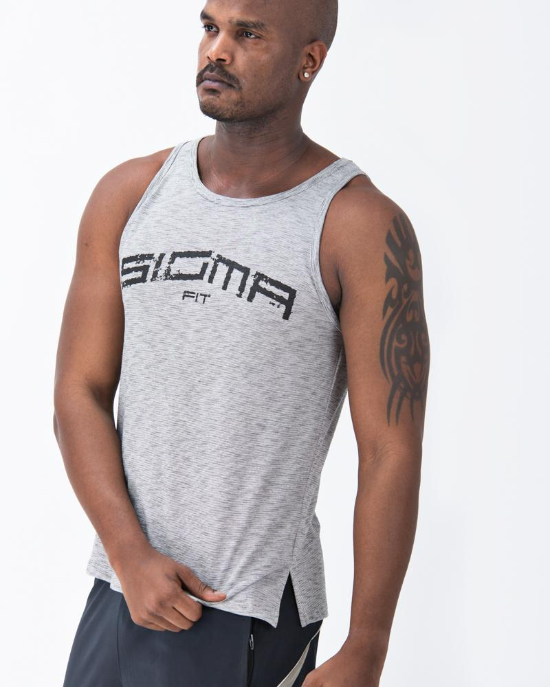 Baggy Tank (Gray) - Sigma Fit US