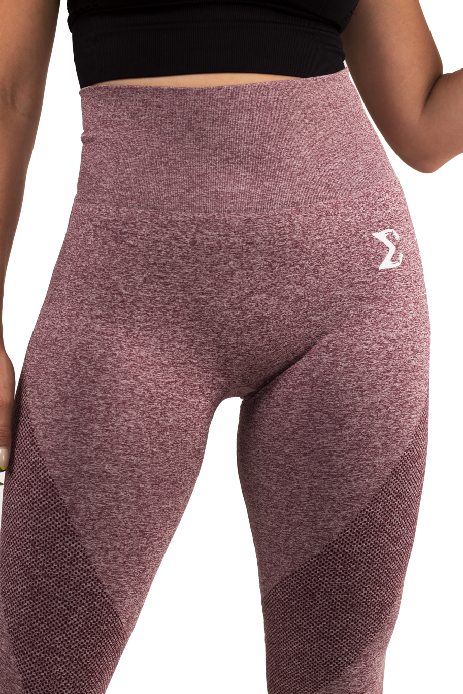 Flex Leggings (Maroon) - Sigma Fit US