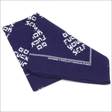 "Supreme ""Go Fuck Yourself"" Bandana"