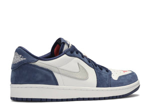 "Nike SB x Air Jordan 1  low QS ""Midnight Navy"""