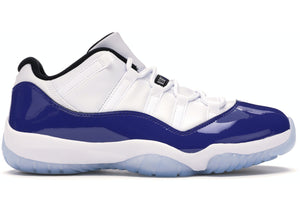 "Air Jordan 11 Retro Low ""White Concord"""
