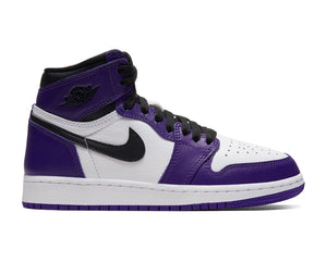 "Air Jordan 1 Retro High ""Court Purple White"" GS"