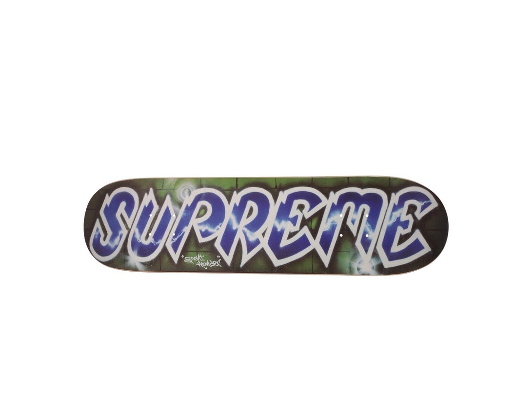 Supreme Lee Quinones Logo Skateboard Deck
