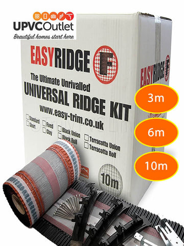 Easy Ridge Universal Dry Ridge Roof Kit Mortar Free Concrete Clay Tile System
