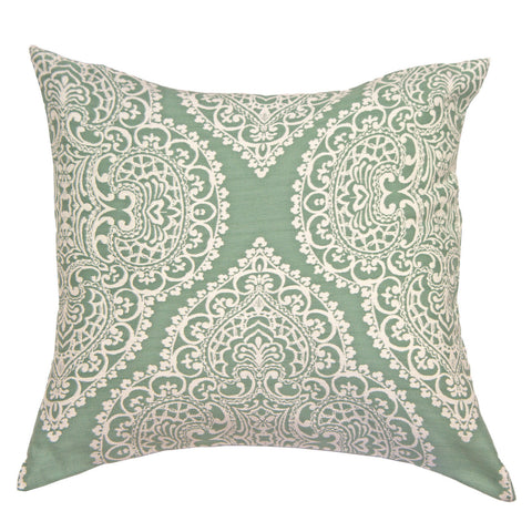 Paisley Patterned Cushion Cover - Perfect Home Decoration - Teal - 45 x 45 cm