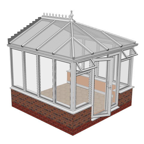 uPVC Conservatory 3m x 3m Made to Measure Conservatories | NEW