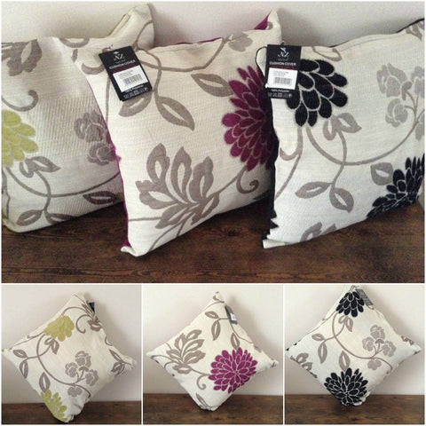 Texas floral cushion covers dining living room hallway 45x45cm new