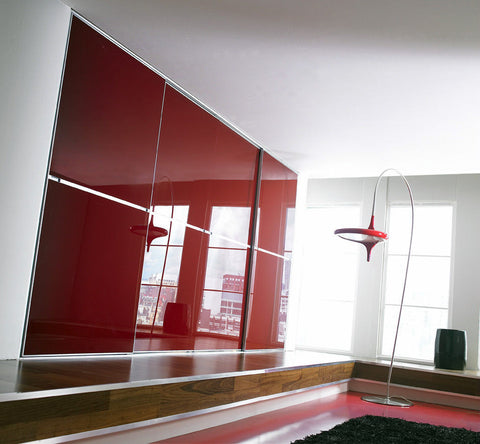 Minimalist Sliding Door - Made to Measure from 550 to 913mm wide, from £290 each