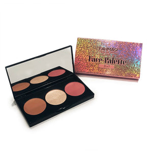 Farmasi Face Palette 3 In 1