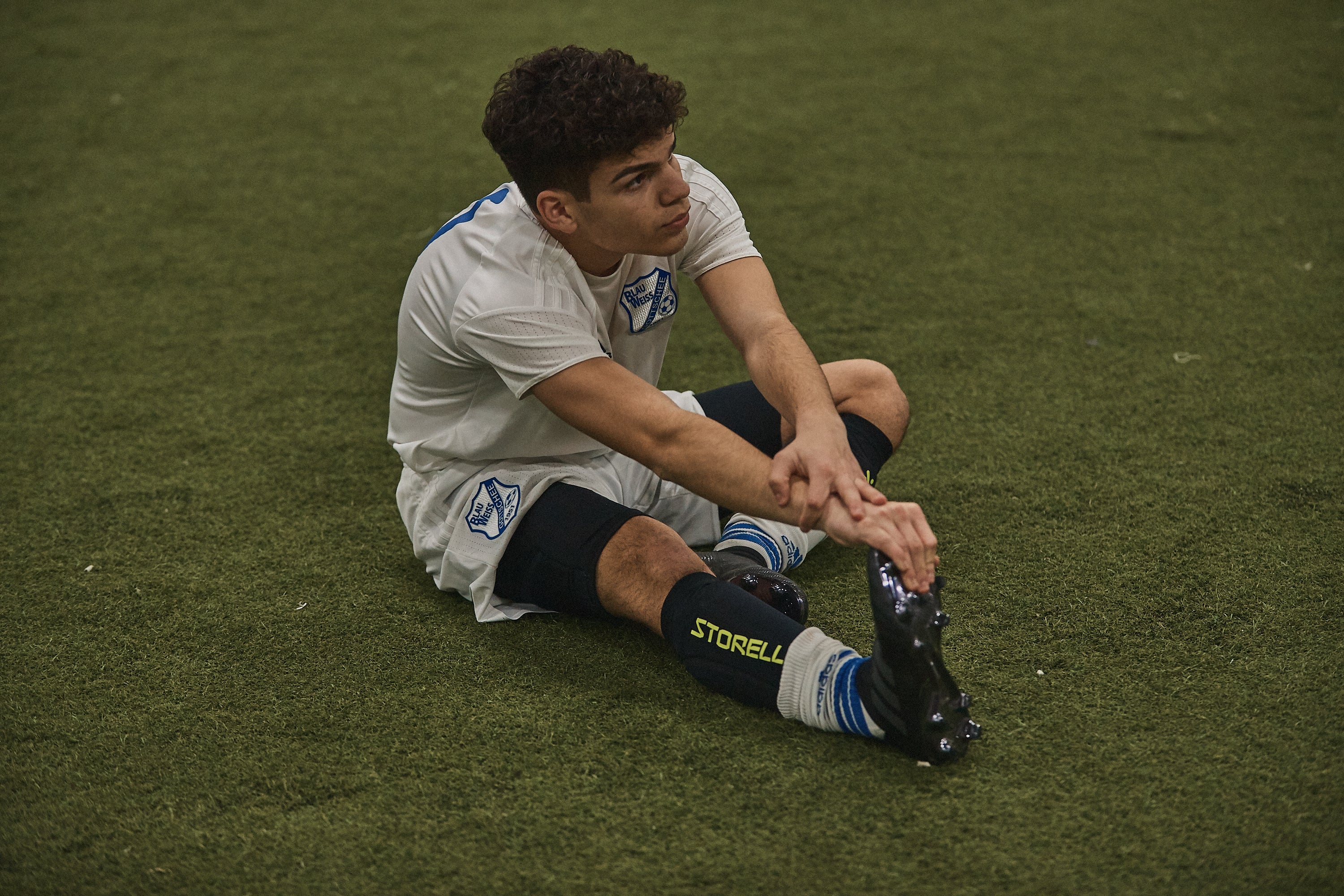 Storelli equipment can prevent turf burn injuries in soccer players of all ages.