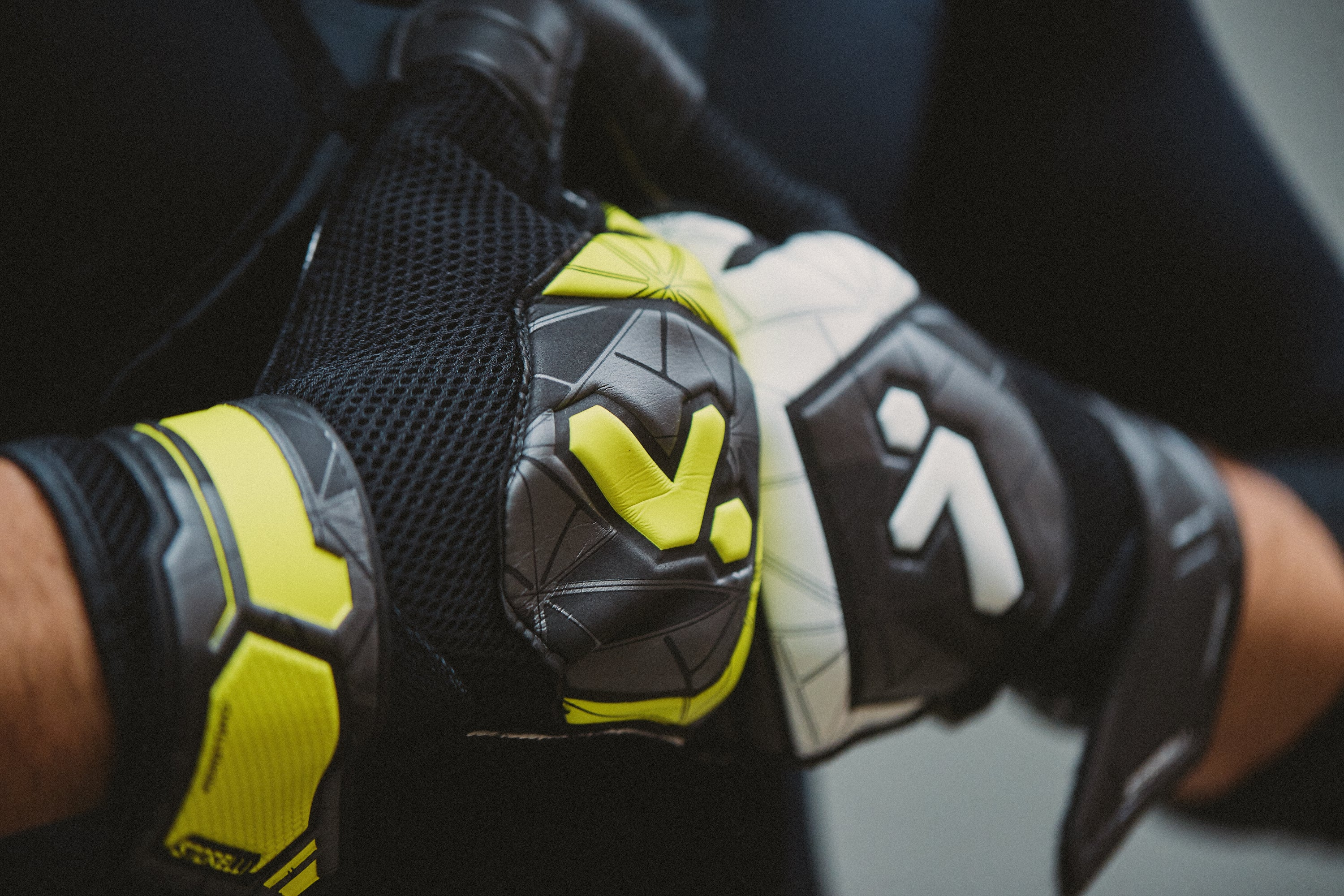 Our Challenger goalkeeper gloves are great starters for beginner & youth soccer players.