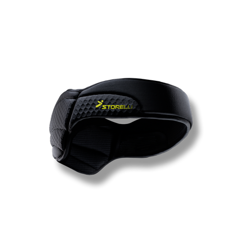 Storelli's ExoShield Head Guard lowered concussion risk by 84% in a study.