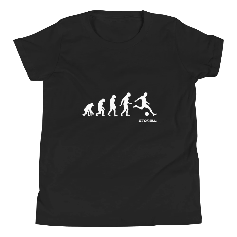 """""""Evolution of a Field Player"""" lifestyle soccer t-shirt."""