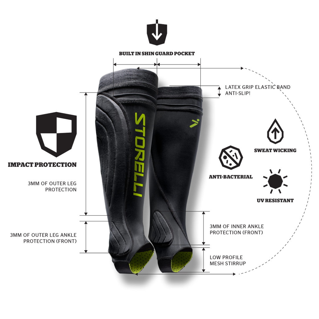 BodyShield Leg Guard Black