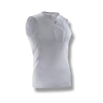 BodyShield Sleeveless Undershirt White