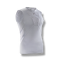 soccer youth kids sleeveless under shirt padded chest protection white