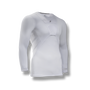 soccer youth kids long sleeve under shirt padded chest protection white