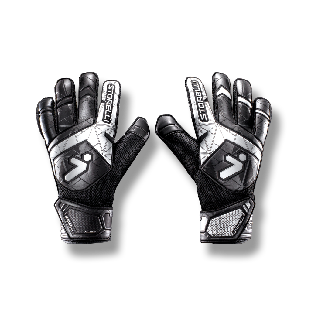 soccer goalkeeping challenger glove spineless latex grip