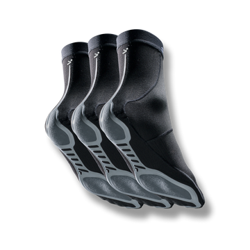 SpeedGrip® Socks 2.0 Black 3-Pack