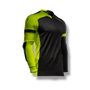 soccer youth kids goalkeeper jersey protection elbow padded black