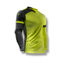 soccer youth kids goalkeeper jersey protection elbow padded yellow