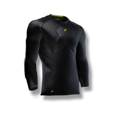 BodyShield GK 3/4 Padded Undershirt Black