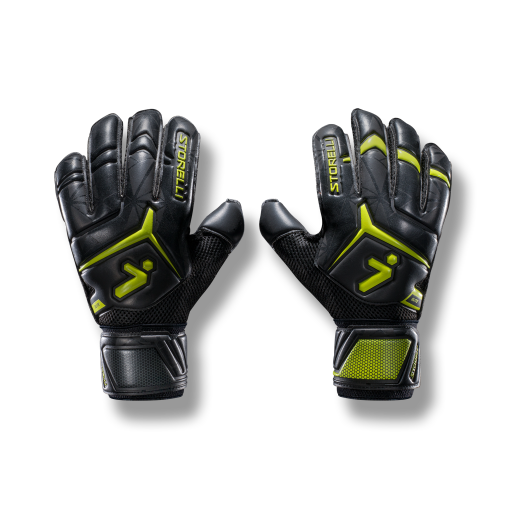 5ff9eafd568 soccer goalkeeping elite glove finger spine saver latex grip ...