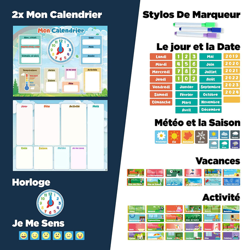 My First Calendar - in French
