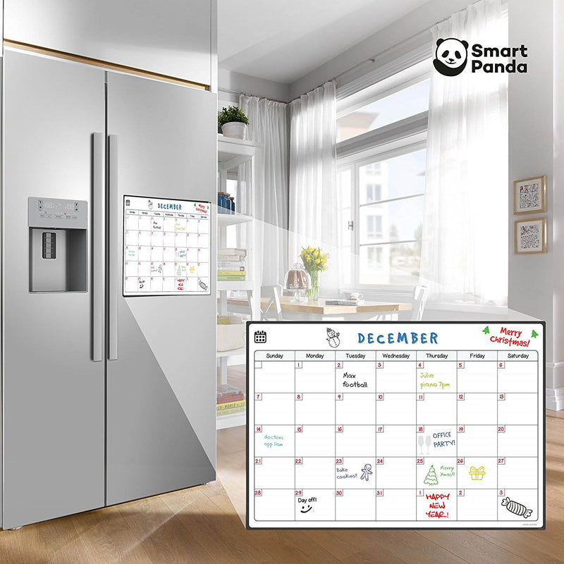 Magnetic Fridge Whiteboard, Monthly
