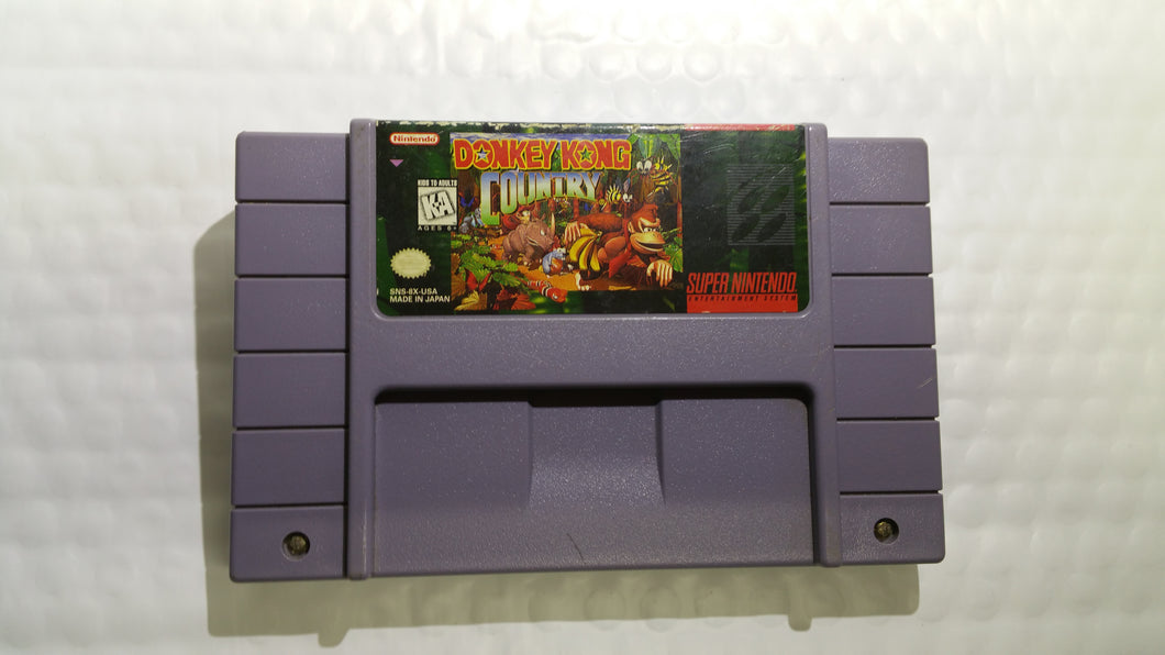 Super Nintendo Game Donkey Kong Country