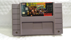 Super Nintendo Game Donkey Kong Country 2