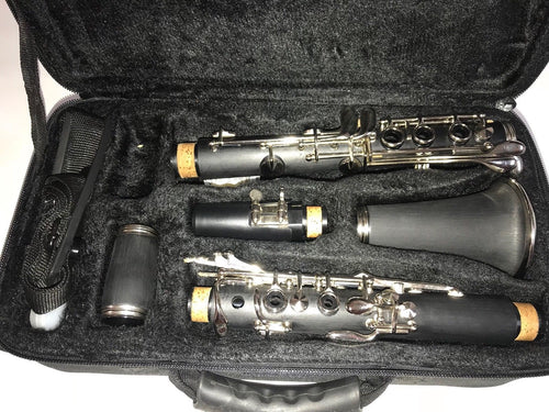 SKY Bb Mate Black Clarinet with Carring Case