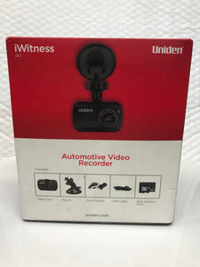 Uniden Automotive Video Recorder