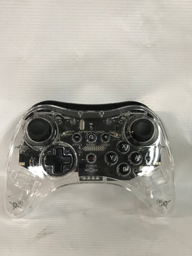 Wii U Clear Wireless Controller