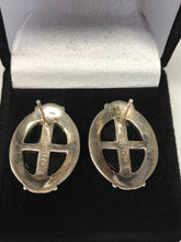 925 Sterling Silver Cameo Ring & Earring Set