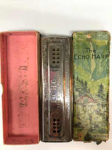 M. Hohner The Echo Harp Harmonica