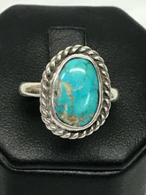 Handcrafted 925 Sterling Silver Turquoise Ring