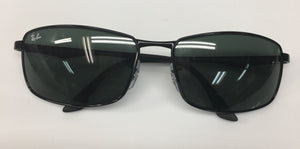 Ray Ban Sunglasses Black Rectangle Lens